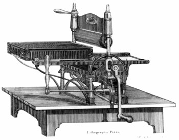 lithograhy-press